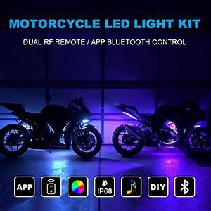 Car Interior Lights Tachico Car Rgb Led Strip Lights App
