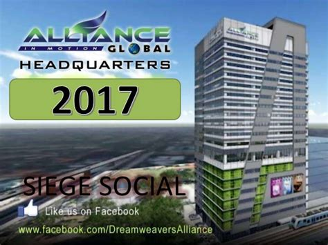 alliance siege social presentation alliance global cote d ivoire jan 2017