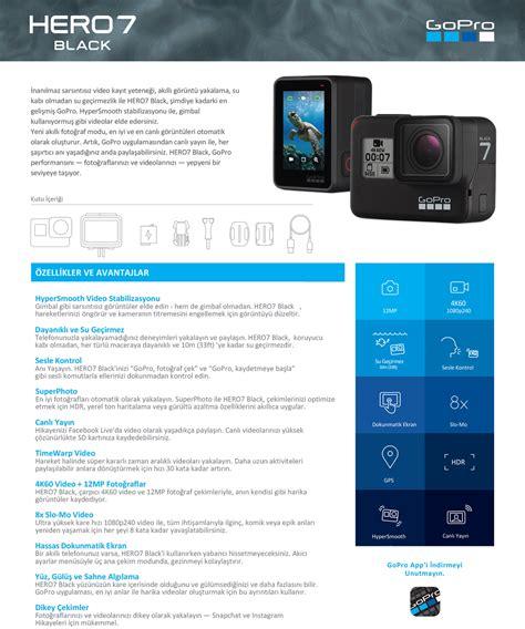 gopro hero black aksiyon kamera fiyati taksit secenekleri