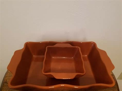 bakeware persimmon bakers abigail casserole stoneware laurie gates oven