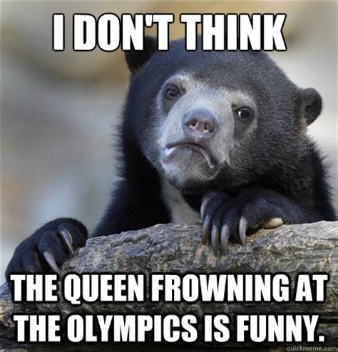 Frowning Meme - confession bear memes quickmeme