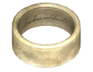 wedding ring the vault fallout wiki everything you