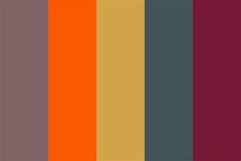 70s colors my 70 quot s memory color palette