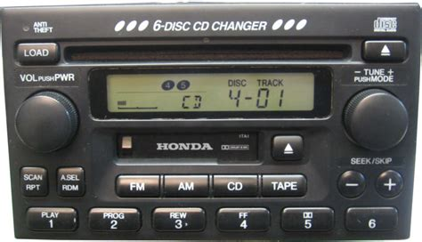 honda accord car stereo cd changer repair andor add