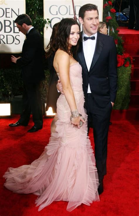 Emily blunt is an actress and she is married to actor john krasinski. John Krasinski and Emily Blunt: Married! - The Hollywood ...