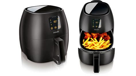 fryer philips air airfryer xl does fried fat oil baking australia low deep fryers serves snacks even cooker larger late