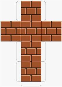 Super Mario Deko : super mario downloadable brick block template mario party super mario geburtstag mario ~ Frokenaadalensverden.com Haus und Dekorationen