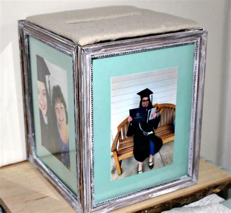 easy diy graduation photo frame card box