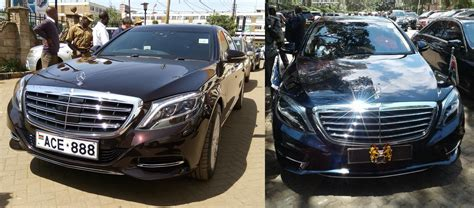 Uhuru Kenyatta And Sportpesa Ceo Drive The Same Type Of Car