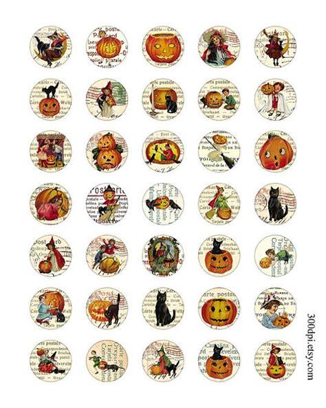 halloween circles    images printable