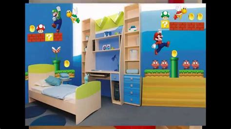 Super Mario Bedroom Decorations Ideas Youtube