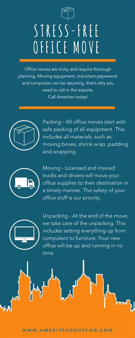 office move announcement   employees ameritex movers
