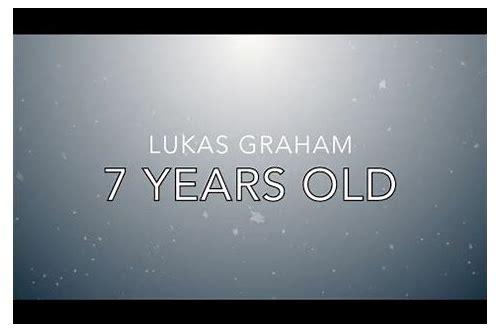 download 7 years lukas graham mp3