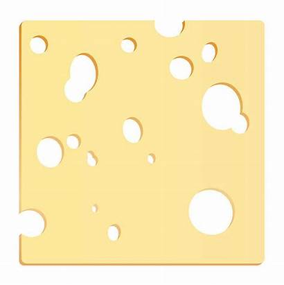 Cheese Slice Swiss Clip Clipart Square Cheddar