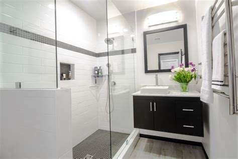 floating vanities sherman oaks bathroom redesign remodel