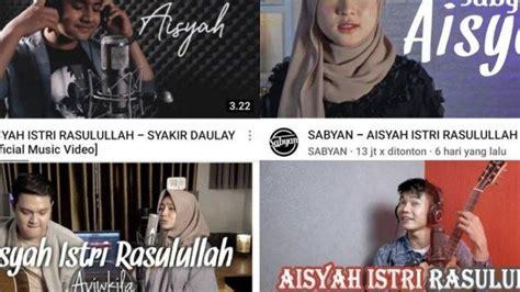 lirik lagu aisyah istri rasulullah lengkap  video