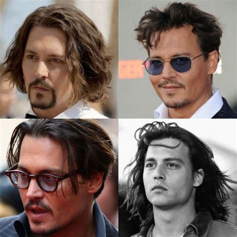 Johnny Depp Hairstyles   Men's Hairstyles   Haircuts 2018