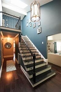 les 25 meilleures idees de la categorie cage escalier sur With idee deco mur escalier
