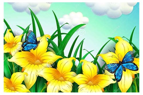 baixar imagens de flores e borboletas azuis