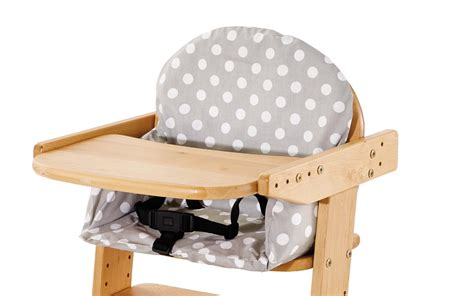coussin chaise haute bois housse pour coussin chaise haute pinolino