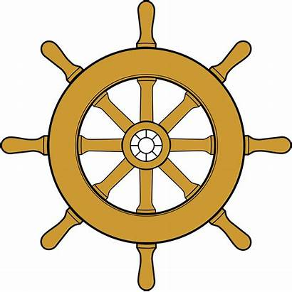 Wheel Boat Clipart Steering Cliparts Clip Library