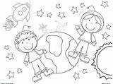 Coloring Space Pages Printable Sheets Outer Worksheets Grade Adults Astronaut Children Preschool Adult Boys Ship Sheet Solare Sistema Crafts Astronomy sketch template