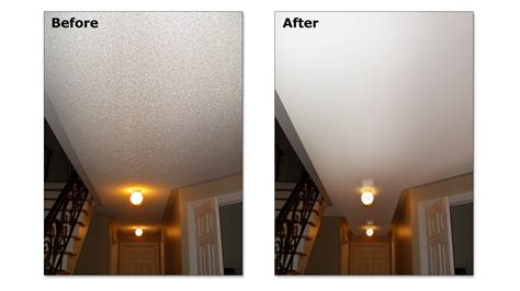 ceiling texture popcorn removal give      home