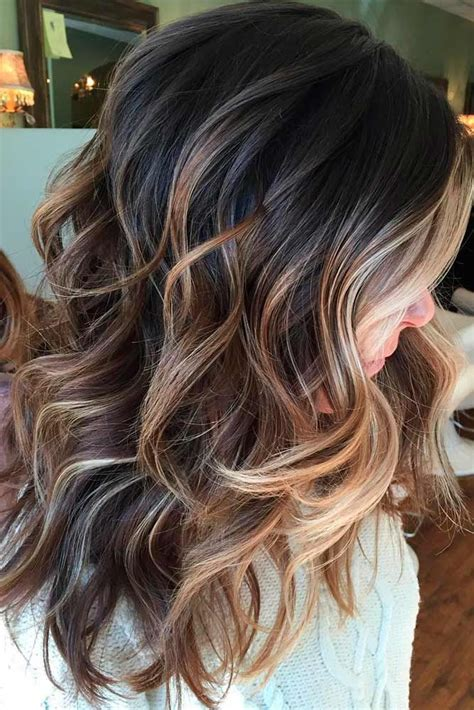 With Highlights Hairstyles by 30 Caramel Highlights For To Flaunt An Ultimate