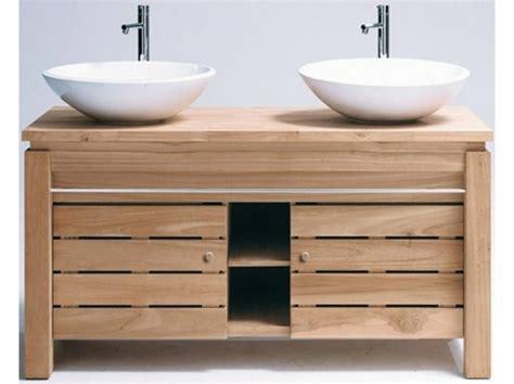 meuble cuisine teck meuble sous vasque bois exotique photos de conception de