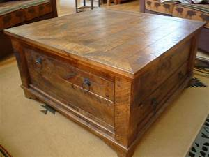 rustic square coffee tables small spaces pinterest With rustic square coffee table with storage