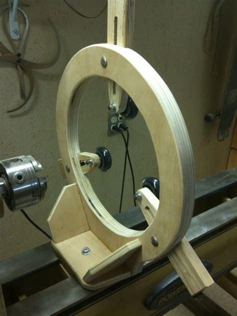 woodwork wood lathe steady rest plans  plans