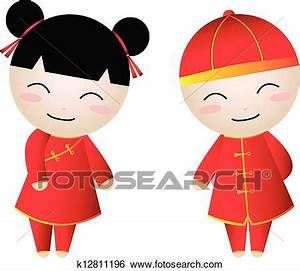 Chinese Boy Clipart