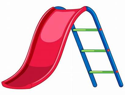 Slide Playground Equipment Vector Clipart Illustration Park