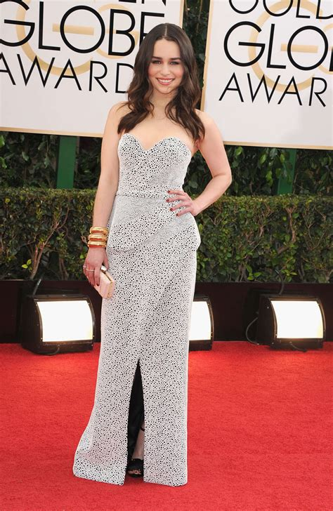 Emilia Clarke Golden Globe 2014 Awards 04 Gotceleb