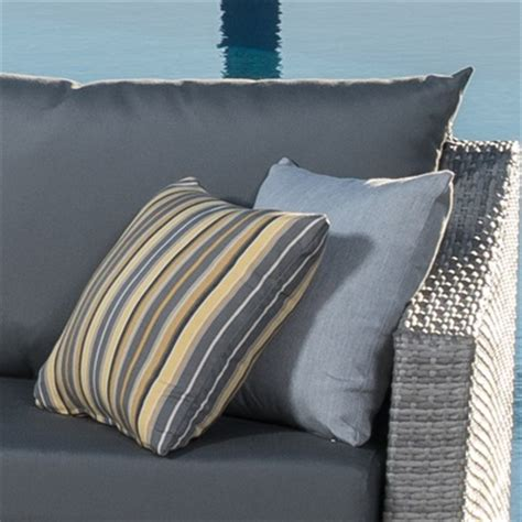 canne chaise cannes chaise lounges with cushion and pillow charcoal