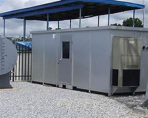 safespace high performance modular buildings rooftop With hvac dog house