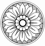Medallion Clip Coloring Clipart Mandala Medallions Graphics Ornamental Flower Antique Graphic Printable Fairy Cliparts Crayon Library Scroll Crayons Colouring Orn sketch template