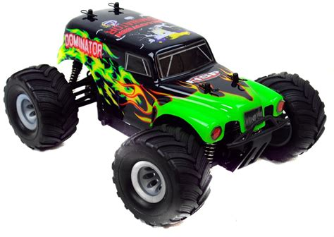 bigfoot rc monster truck bigfoot 1 24 electric rc monster truck 2 4ghz rtr dominator
