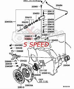 2006 Mitsubishi Eclipse Transmission Parts Diagram