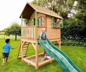 Spielhaus Garten Mit Rutsche : wunschgarten so stellen sich kinder garten gartenhaus vor ~ Watch28wear.com Haus und Dekorationen