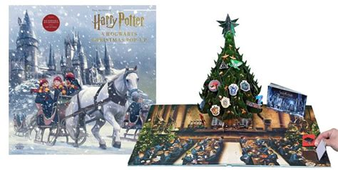Harry Potter Christmas Pop-Up Book for ONLY $23.99 + FREE
