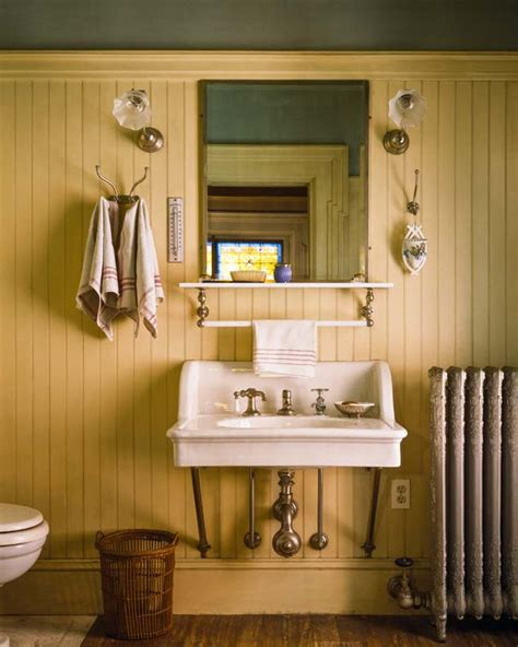 bathrooms with beadboard 9 ideas for cottage baths house house Cottage