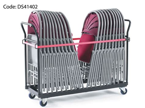 by fold chair storage trolley by fold chairs and tables