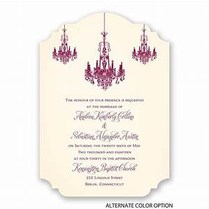 ballroom beauty invitation invitations by dawn With all in one wedding invitations reviews