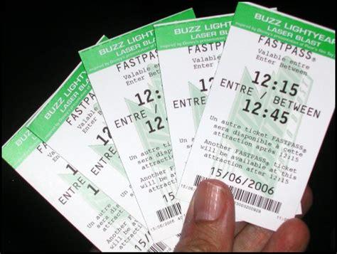 Sta Biglietti Ingresso Fastpass E Non Come Ridurre Le Code A Disneyland