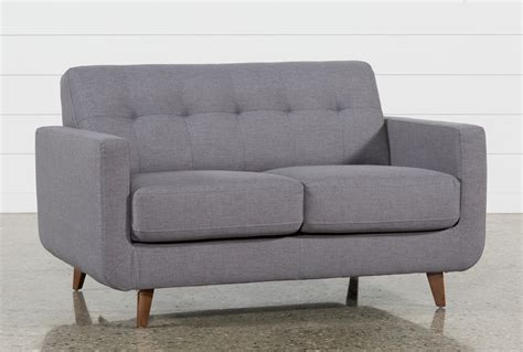 Loveseat Small by Grey Loveseat Living Spaces