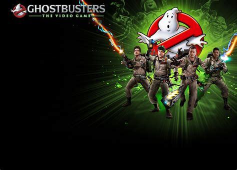 ghostbusters  video game wallpaper