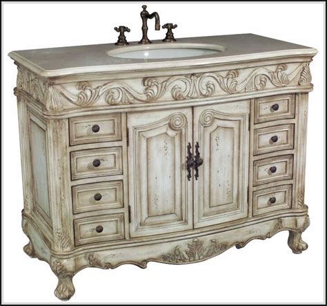 Antique Bathroom Vanity Cabinets