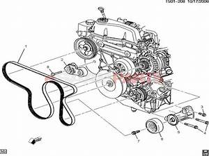 2004 Chevy Trailblazer Engine Parts Diagram