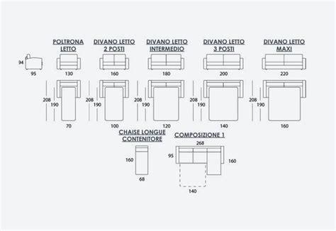 Dimensioni Divano Letto : Riccardo Corredi Franchising